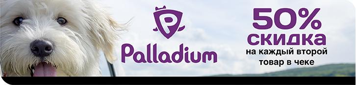 -50% на второй товар ТМ Palladium