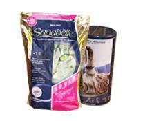 Акция на сухой корм для кошек Sanabelle
