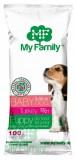 MY FAMILY Babydog Сухой корм с Индейкой для щенков,беременных и лактирующих собак 10шт по 100г