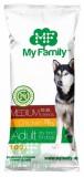 MY FAMILY Medium Adult Сухой корм с Курицей для собак средних пород 10шт по 100г