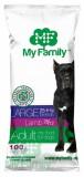 MY FAMILY Large Adult Сухой корм с Ягненком для собак крупных пород 10шт по 100г