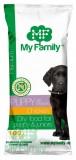 MY FAMILY Premium Puppy Сухой корм с Курицей для щенков 10шт по 100г
