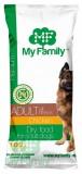 MY FAMILY Premium Adult Сухой корм с Курицей для взрослых собак 10шт по 100г
