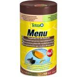 Tetra MENU 100ml (4 в 1) мелкие хлопья