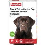 Beaphar (Беафар) Ошейник против блох для собак 65см зеленый