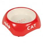 Trixie миска для кошек (керамика) 200 мл Ø 13 см