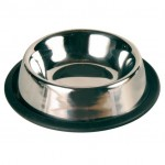 Trixie миска для кошек (металл) на резине 200 мл Ø 11 см