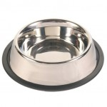 Trixie миска для кошек (металл) на резине 450 мл Ø 14 см