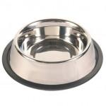 Trixie миска для собак (металл) на резине 2,8 л Ø 24 см