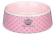 Trixie Миска для собак Dog Princess керамическая розовая (объем 0,18л / диаметр 12 см)