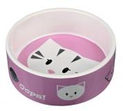 Trixie Миска для кошек Mimi керамическая (объем 0,3 л / диаметр 12 см)