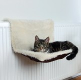 Trixie Лежак на батарею для кошки  (45х26х31 см) коричневый с бежевым