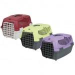"""Trixie переноска для собак """"Capri 1"""" 48 см, серый/лиловый (max 5 кг)"""