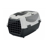Trixie Переноска для собак Capri 2 (размер XS-S: 37х34х55 см, до 8 кг) темно-серый / светло-серый