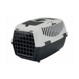 Переноска для собак Capri 2 (размер XS-S: 37х34х55 см, до 8 кг) темно-серый / светло-серый
