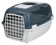 Переноска для собак Capri 3 (размер S: 40×38×61 см, до 12 кг) серый / светло-серый