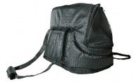 Trixie сумка - переноска для кота ( нейлон ) черная 45 см