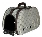 """Trixie сумка-переноска для собак """"Sissy"""" (жёсткие стенки) 20х31х50 см, беж/корич"""