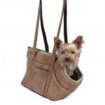 """Trixie сумка - переноска для собак и кошек """"Vincent""""  (нейлон) 25 х 23 х 28 cм, светло-корич."""