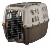 """Trixie Переноска для собак """"Skudo 7"""" (размер L - 73×76×105 см, до 45 кг) коричневый / песочный"""