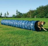 Trixie Тренировочный тоннель 60 см/5 м, тёмно-голубой