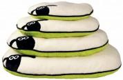 """Матрац """"Shaun the Sheep"""" (50х35 см) кремовый с зеленым"""