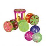 Trixie Мячи и барабаны (пластик) 4 см (60 шт)