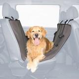 Trixie Покрывало на заднее автосиденье (нейлон) 1,40х1,45 м, чёрный/корич.