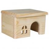 Trixie Домик для кроликов (дерево) 40х20х23 см