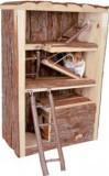 Trixie Башня 3-эт для грызунов (дерево) 25x35x13 cм