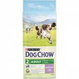 Dog Chow сухой корм для взрослых собак с ягненком Adult (14 кг)