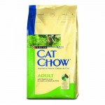 Сухой корм для кошек - Cat Chow (Кэт Чау) С кроликом и печенью 1,5 кг