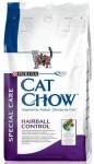 Cat Chow (Кэт Чау) Hairball. Против образования волосяных шариков 15 кг