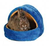 Trixie Мягкое место для кролика 25х25х29 см, синий/оранж