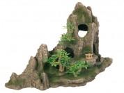 Trixie Декоративный горный массив с растениями