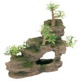 Trixie Многногоярусная скала с растениями (малая)