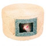 Trixie Мышка в веревочном домике 16х10 см