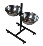 подставка с мисками для кормления собак 1,4 л