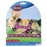 "Trixie - Шлея с поводком для кролика ""Harness"""