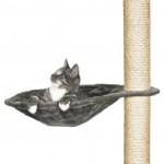 Trixie гамак для драпака круглый, 40 см, серый