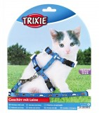 """- Шлея с поводком для миниатюрных кошек и котят """"Kitten Harness"""""""
