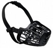 Намордник для собак пластиковый черный M 20см