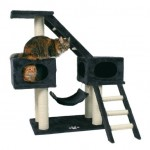"""Trixie домик  для кошки """"Malaga"""" (антрацит) 109 см"""