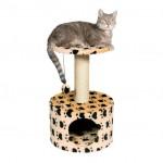 """Trixie домик для кошки  """"Toledo """"61 см беж.в лапах"""