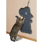 """Когтеточки, домики - Trixie драпак для котов подвесной """"Мышь"""" 38х60 см, серый"""