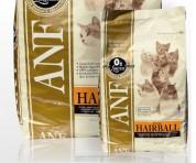 Сухой корм для кошек - ANF Feline Hairbal 1кг