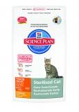 Hill's Сухой корм кастрированных котов и стерилизованных кошек Science Plan Young Adult Sterilised (300 г)