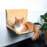 Trixie Лежак на батарею для кошки (48х26х30 см) бежевый