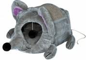 """Trixie Домик для котов """"Lukas"""" (35х33х65 см) серый"""