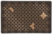 Trixie Коврик под миски коричневый/бронзовый 44*28см